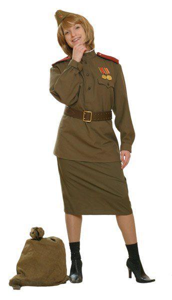 Военная форма женская