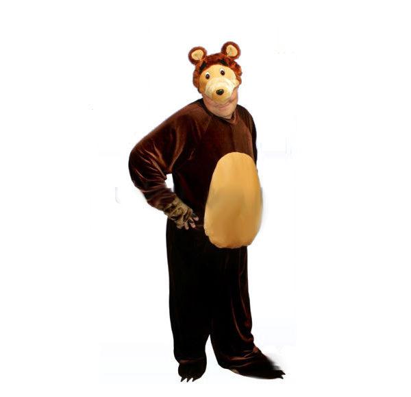 Костюм медведя для взрослого