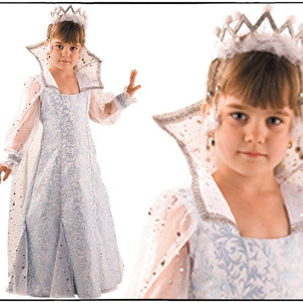 Костюм снежной королевы для девочки сшить