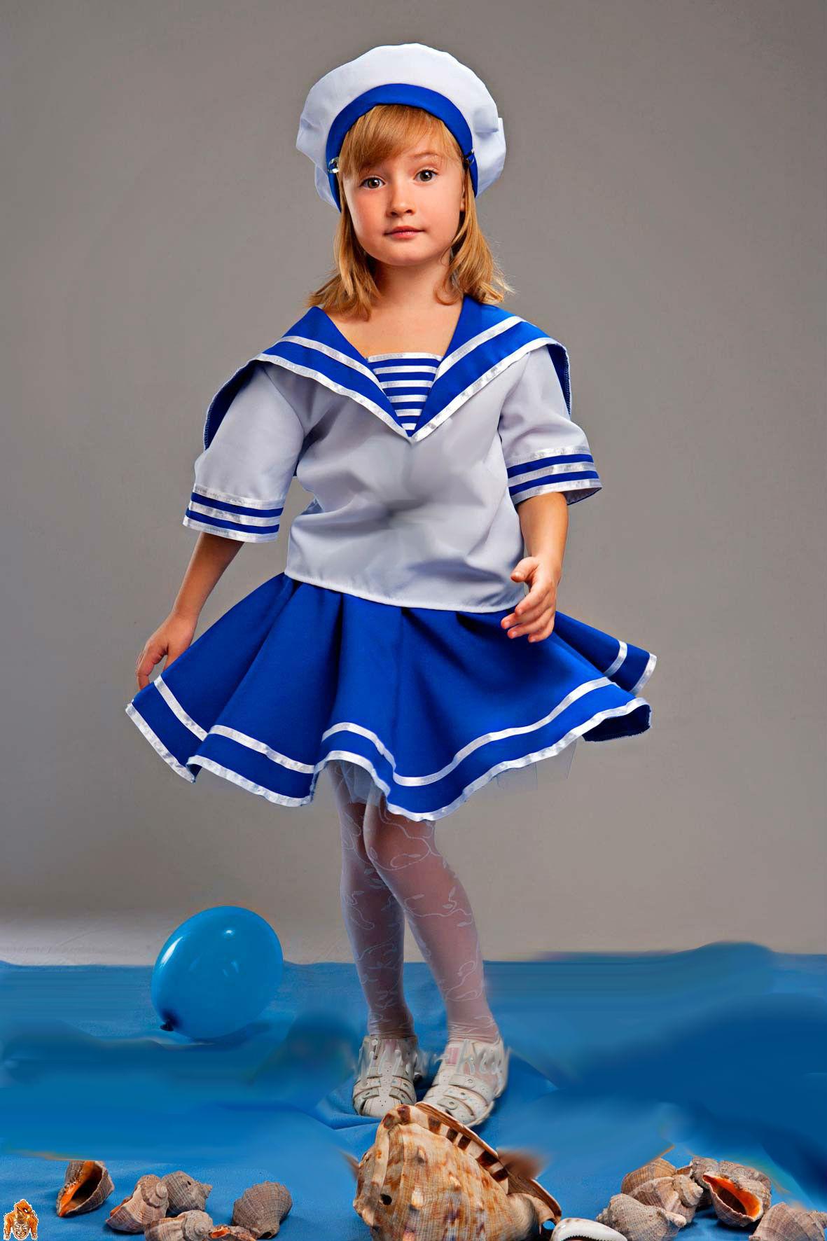 Костюм моряка для девочки своими руками