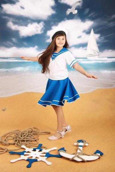 Девочка морячка