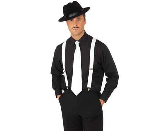 Подтяжки и галстук - атрибуты настоящего гангстера