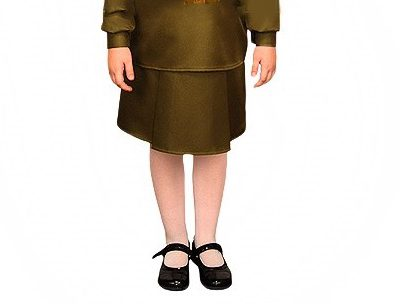 детский военная юбка